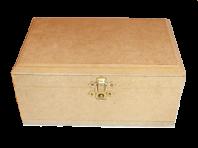 Pudełko na biżuterię 18x11 cm (sklejka)