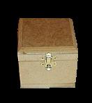 Шкатулка 10х10 см (фанера)