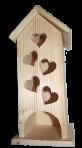 Шкатулка пять сердечек