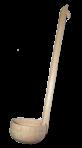Chochla środkowa - łyżka cedzakowa