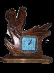 Часы с петушком