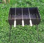 Мангал-валіза 8 шампурів
