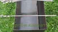 Metal skewer angular 550/12/1,2 mm