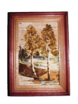 Painting of birch bark 10х15