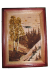 Picture of birch bark 13х18