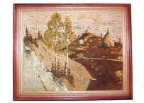 Picture of birch bark 20x25