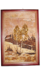 Picture of birch bark 20х30