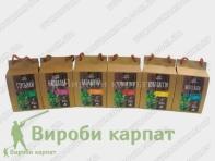 Карпатські чаї в пакетиках