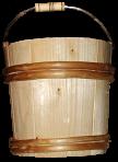Drewniane wiadro