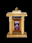 Пісочний годинник з одного колбою