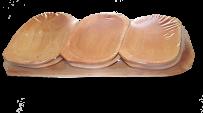 Zestaw drewnianych przyborów (owalne)