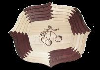 Овальная тарелка