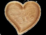 Тарілка сердечко