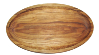 Овальна тарілка