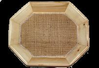 Овальная тарелка 18х22 cv