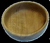 Тарелка деревянная D 15 см