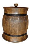 "Barrel ""bochechka"" 0.5 liters"
