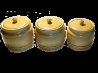 Set of barrels