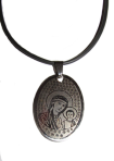 Medallion of the Mother of God with Jesus