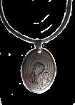 Медальон Божья матерь с Иисусом