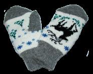 Дитячі рукавиці 19 см