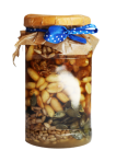 Honey with nuts and seeds