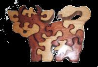 Puzzle krowa
