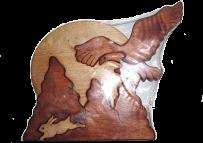 Пазл орёл и заяц