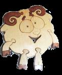 Puzzle owiec