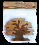 Wiewiórka puzzle na drzewie