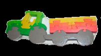Пазл трактор