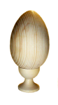 Blank egg on a stand 16 cm