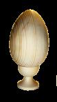 Puste jajko na stojaku 16 cm