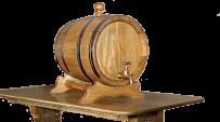 Barrel of wine and 10 liters of cognac
