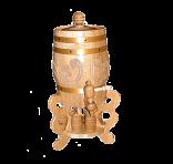 Barrel souvenir vertical 5 L
