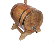Barrel with leaf 10L