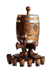 Barrel carved 5L
