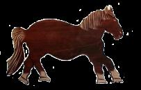 "Panelowe obrazy ""koń"""