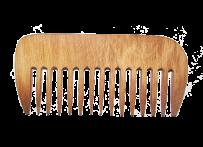 Расчёска с широкими зубьями