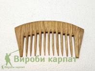 Grzebień drewniany dąb