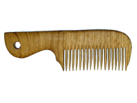 Drewniany grzebień