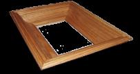 Дубова рамка 5,5 - 10х15 см