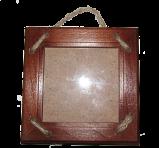 Ramka na zdjęcia ze sznurkiem 10x10 cm