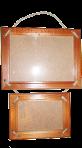 Фоторамка - Двійник 15х21 і 10х15