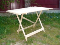 Розкладний стіл 120 х 80 см