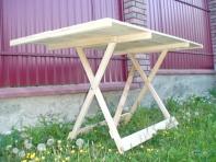 Розкладний стіл 150 х 80 см