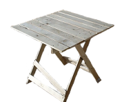 Collapsible table 100 x 60 cm