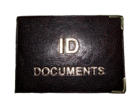 Cover of driver's documents