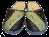 Дитячі тапочки з закритим носком