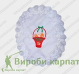 Decoration with embroidery 30х40